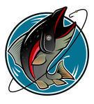 voorbeeld logo visser
