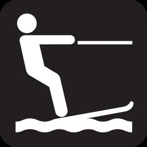 voorbeeld waterski logo