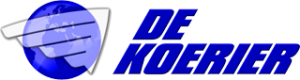 voorbeeld koerier logo