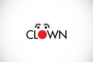 clown voorbeeld logo