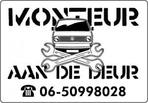 monteur voorbeeld logo