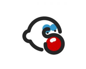 voorbeeld van clown logo