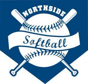 Voorbeeld logo softball