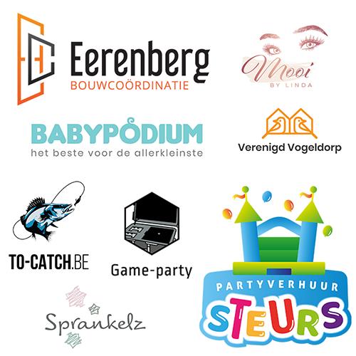 Logo voorbeelden 15 euro logo's